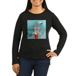 What's This? Women's Long Sleeve Dark T-Shirt