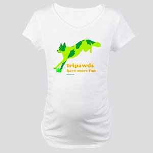 Tripawds Have More Fun Maternity T-Shirt