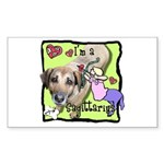 I'm a Sagittarius Sticker (Rectangle 10 pk)