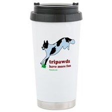 Tripawds Have More Fun Stainless Steel Travel Mug