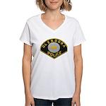 Glendora Police Women's V-Neck T-Shirt