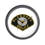 Glendora Police Wall Clock