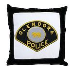Glendora Police Throw Pillow