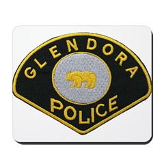 Glendora Police Mousepad