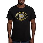 Glendora Police Men's Fitted T-Shirt (dark)