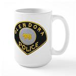 Glendora Police Large Mug
