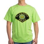 Glendora Police Green T-Shirt