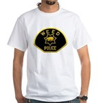 Weed Police White T-Shirt