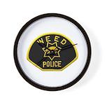 Weed Police Wall Clock