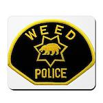 Weed Police Mousepad
