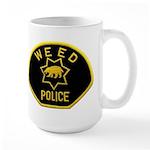 Weed Police Large Mug