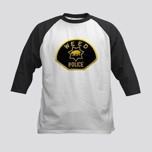 Weed Police Kids Baseball Jersey