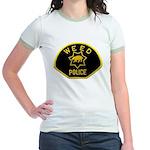 Weed Police Jr. Ringer T-Shirt