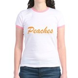 Peaches Jr. Ringer T-Shirt