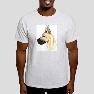 Great Dane Fawn HS (fem) Ash Grey T-Shirt