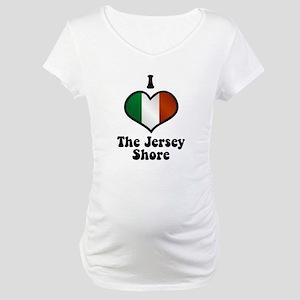 I Love the Jersey Shore Maternity T-Shirt
