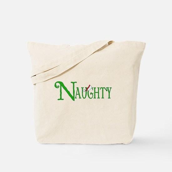 Naughty for Christmas Tote Bag