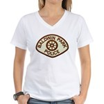 Baldwin Park Police Women's V-Neck T-Shirt