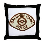 Baldwin Park Police Throw Pillow