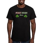 Foxy Irish Mom - 2 Men's Fitted T-Shirt (dark)