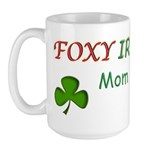 Foxy Irish Mom - 2 Large Mug