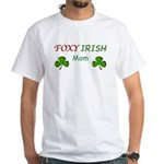 Foxy Irish Mom - 2 White T-Shirt