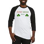 Foxy Irish Mom - 2 Baseball Jersey