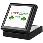 Foxy Irish Mom - 2 Keepsake Box
