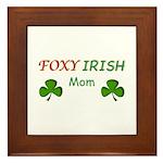 Foxy Irish Mom - 2 Framed Tile