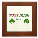 Foxy Irish Mom - 2 Framed Tile
