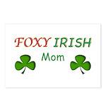 Foxy Irish Mom - 2 Postcards (Package of 8)