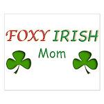 Foxy Irish Mom - 2 Small Poster