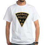 Passiac Police White T-Shirt