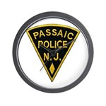 Passiac Police Wall Clock