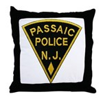 Passiac Police Throw Pillow