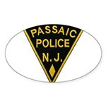 Passiac Police Sticker (Oval)