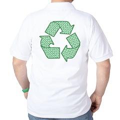 Path to Recycling Golf Shirt