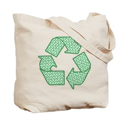 Path to Recycling Tote Bag