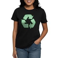 Path to Recycling Women's Dark T-Shirt