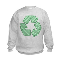 Path to Recycling Kids Sweatshirt