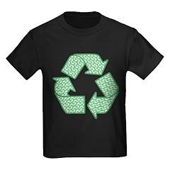 Path to Recycling Kids Dark T-Shirt