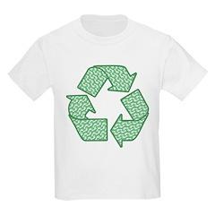 Path to Recycling Kids Light T-Shirt