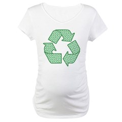 Path to Recycling Maternity T-Shirt