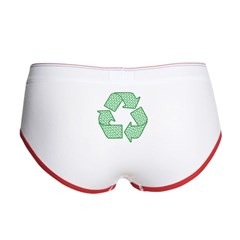 Path to Recycling Women's Boy Brief