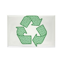 Path to Recycling Rectangle Magnet