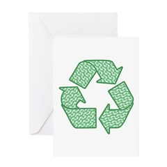 Path to Recycling Greeting Card