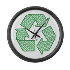 Path to Recycling Large Wall Clock