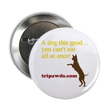 "A Dog This Good 2.25"" Button"
