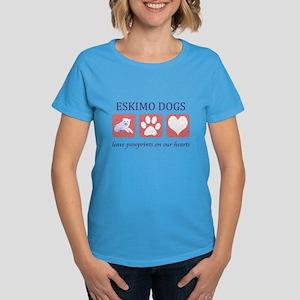 Eskimo Dog Lover Women's Dark T-Shirt