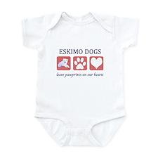 Eskimo Dog Lover Infant Bodysuit